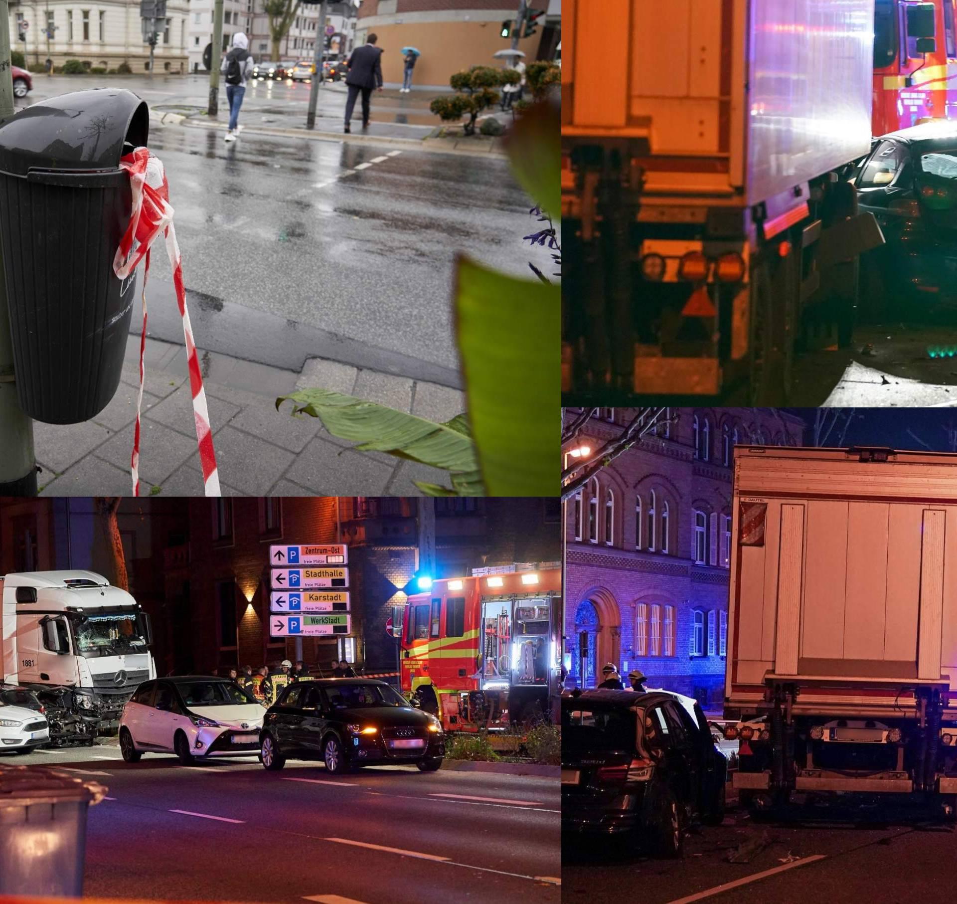 Ukrao kamion i pokosio kolonu auta, devet ljudi je ozlijeđeno...