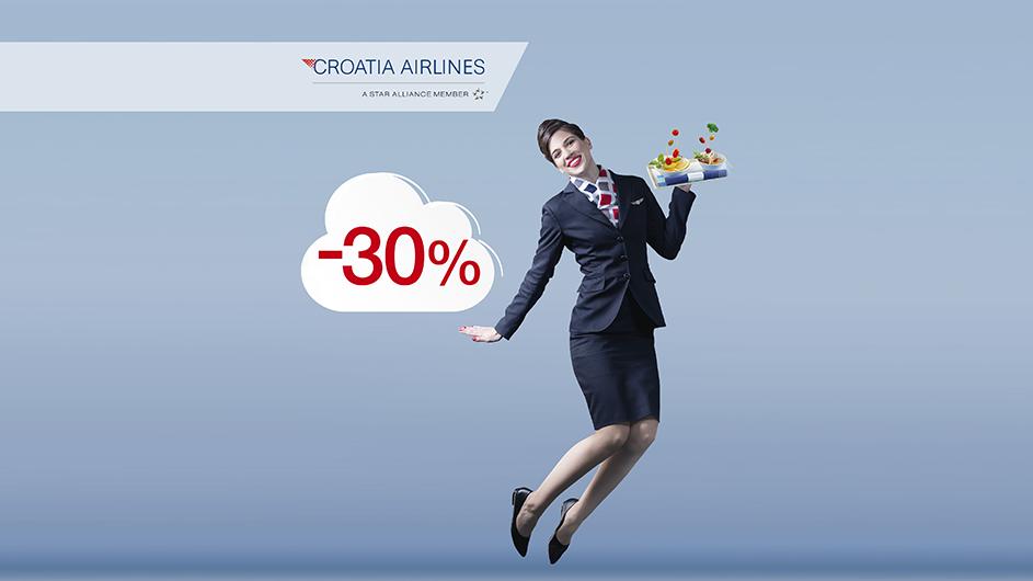 Croatia Airlines slavi 30. rođendan uz 30% popusta!