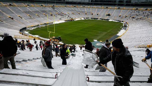 Packersi nude posao: Očistite nam snijeg za 80 kuna po satu