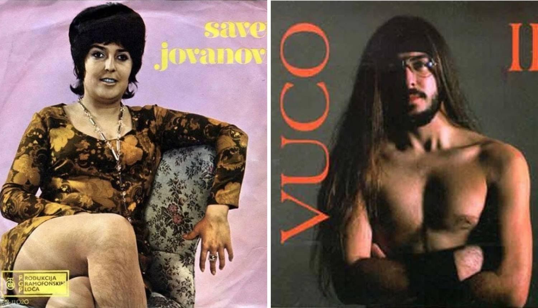 Najbizarniji omoti albuma iz ex Yu: Od Dragojevića do Cajke...