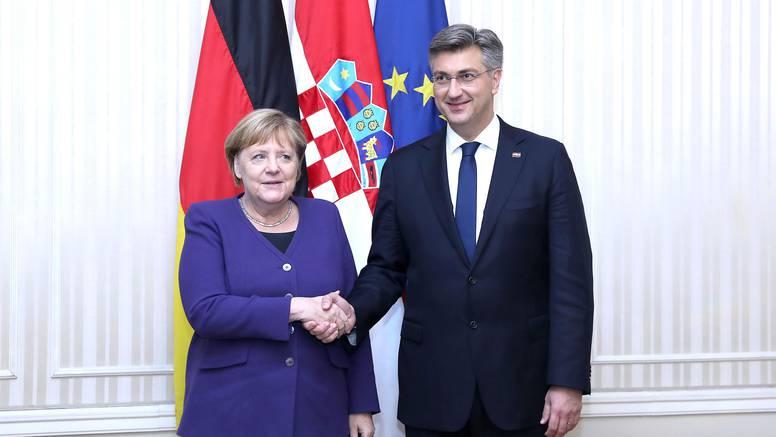 Plenković se sastaje s Merkel u dvodnevnom posjetu Njemačkoj
