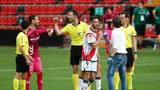 Spanish Segunda Division - Rayo Vallecano v Albacete