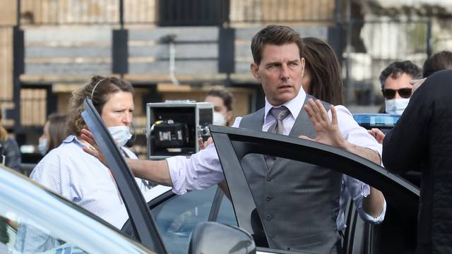 "Rome, Movie set ""Mission impossible 7"""