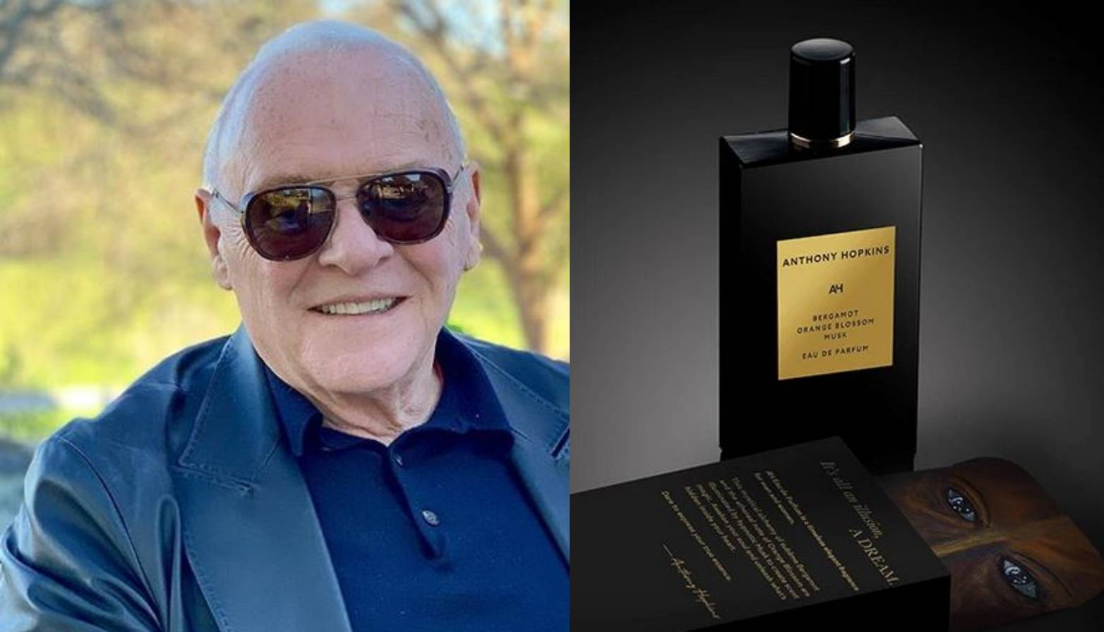 Anthony Hopkins ima beauty vijesti - potpisuje svoj parfem
