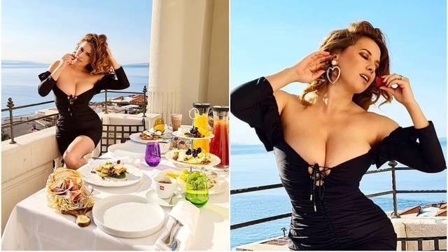 Nives Celzijus objavila fotku u 'riskantnoj' haljini, pratitelji je usporedili s Monicom Bellucci