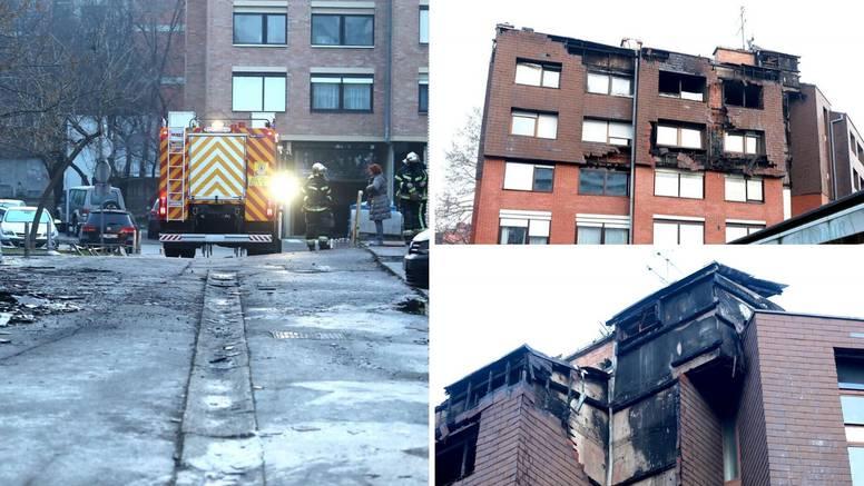 Vatrogasci i dalje na požarištu: 'Susjeda je vrištala, u šoku je'