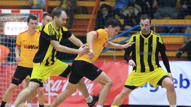 Zagreb: 48. Kutija Å¡ibica, polufinale, CB Dobermann - Dribbling sport bar WWin kladionica