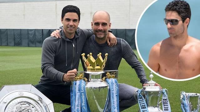 Novi trener Arsenala čudom je živ: Ima uspomenu na prsima