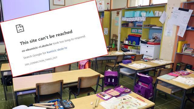 Stoljeće unazad: 1.200 škola u blokadi, 'pale' im web stranice
