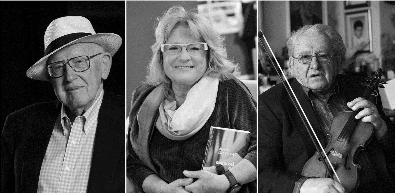 Hrvatska tuguje: Izgubili smo Branka Lustiga, Mani i Dudeka