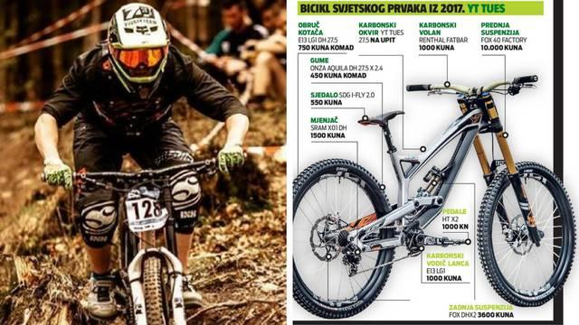 Strmo, grubo, brzo... I skupo. Bicikl prvaka košta kao auto...