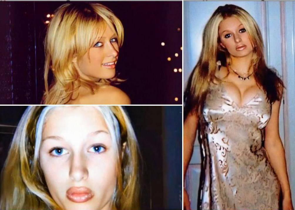 Paris objavila fotke iz mladosti: Bolje si izgledala prije zahvata