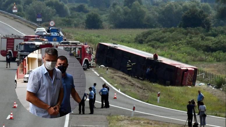 Vozač busa s Kosova u kojem je poginulo 10 ljudi dobio još dva mjeseca pritvora: 'On je loše...'