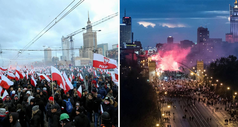Poljska: Neonacisti na ulicama Varšave