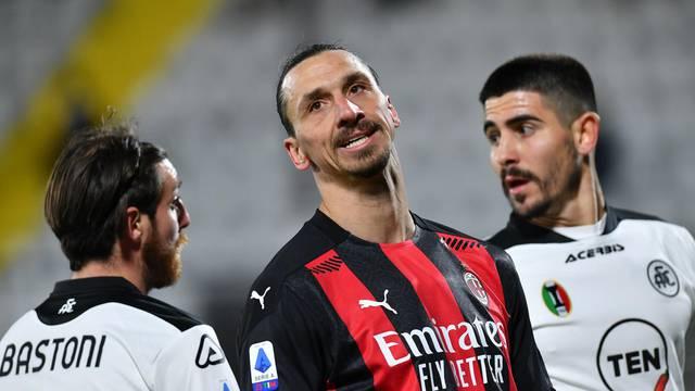 Serie A - Spezia v AC Milan