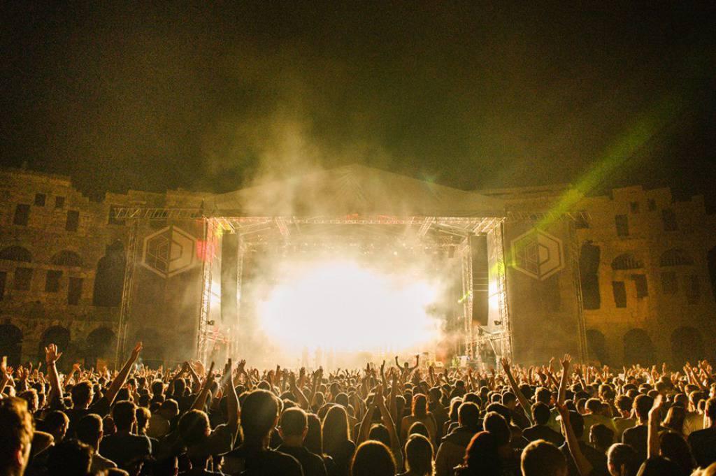Otvorenje Dimensions festivala u Puli 27. kolovoza 2014.