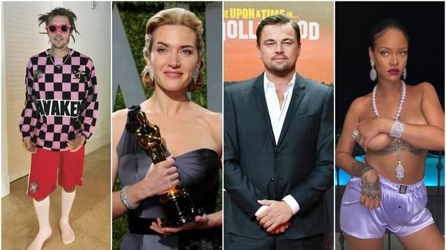 DiCaprio i Rihanna karte imaju od 2013. godine, a Kate Winslet na putovanje vodi cijelu obitelj