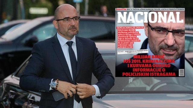 'Brkić je razbio tajnu istragu o prostituciji, javljao informacije'