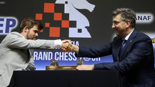 Zagreb: Otvorenje Å¡ahovskog turnira Croatia Chess Tour 2019.