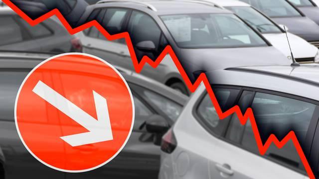 Nijemci kupili čak petinu manje automobila u prošloj godini