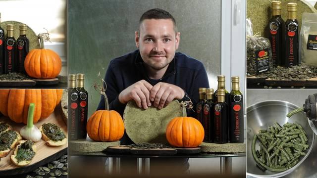 Danijel iz Bedekovčine radi šampionsko bučino ulje: Tajna vrhunskog proizvoda je u koštici