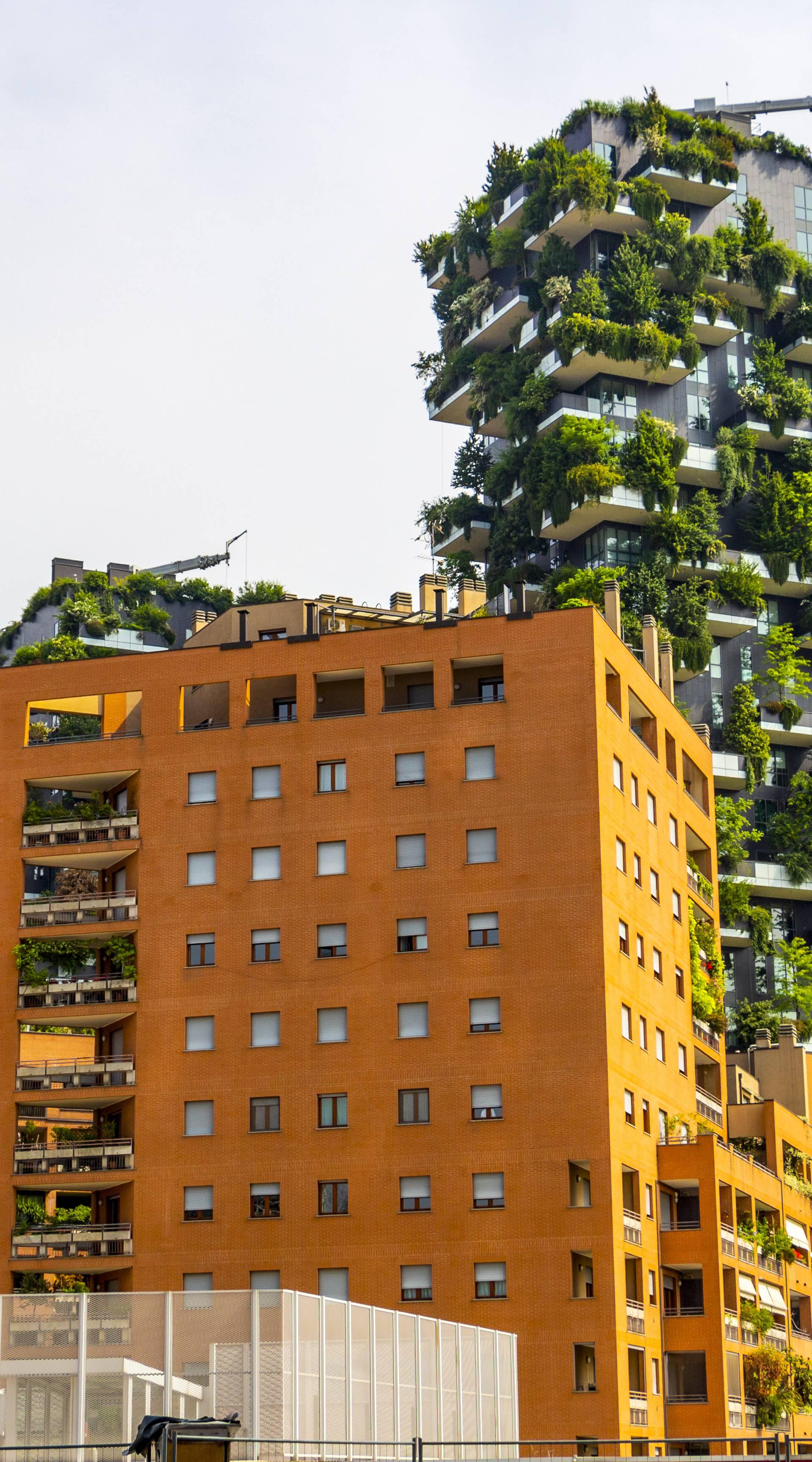 Gradovi budućnosti: Vertikalne šume spasit će nam zelenilo?