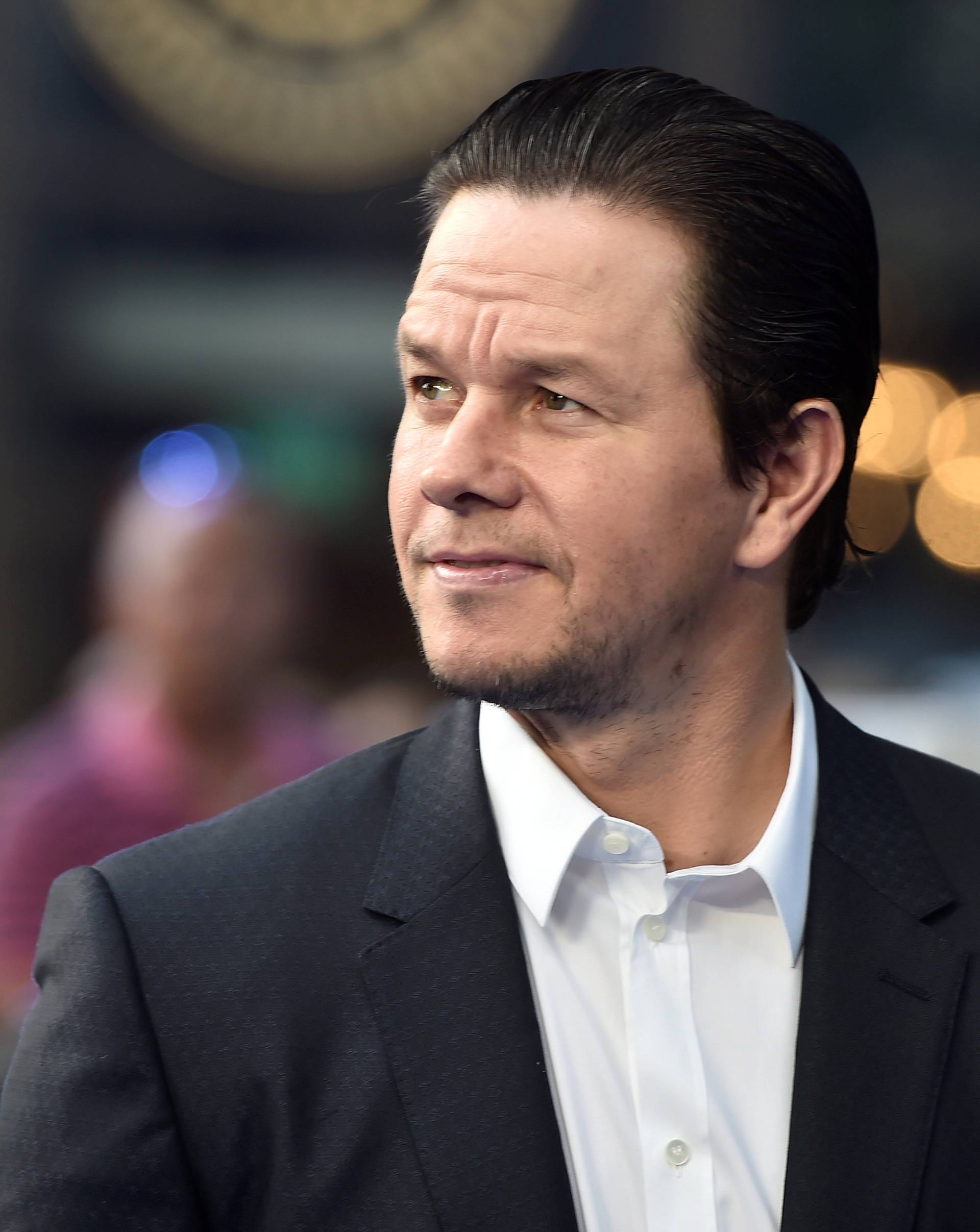 FILE PHOTO: Wahlberg arrives for world premiere of Transfomers, The Last Night, at a cinema in central London