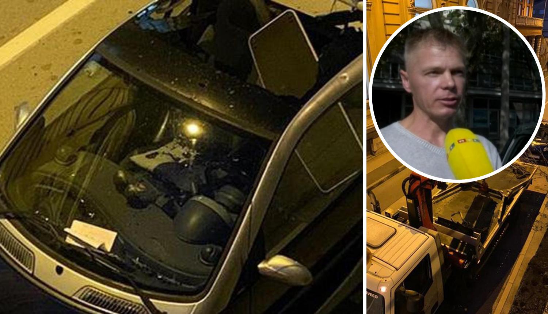 Rusu skršili auto: 'Katastrofa, slomili mi krov, razbili staklo...'