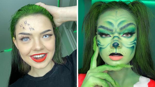 Prerušila se u Grincha i Jokera: 'Na šminkanje mi 'ode' i cijeli dan te tri litre pudera godišnje'