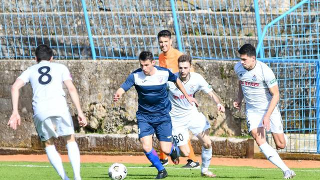 GOŠK Dubrovnik i Svalen Belupo sastali se u osmini finala Hrvatskog nogometnog kupa