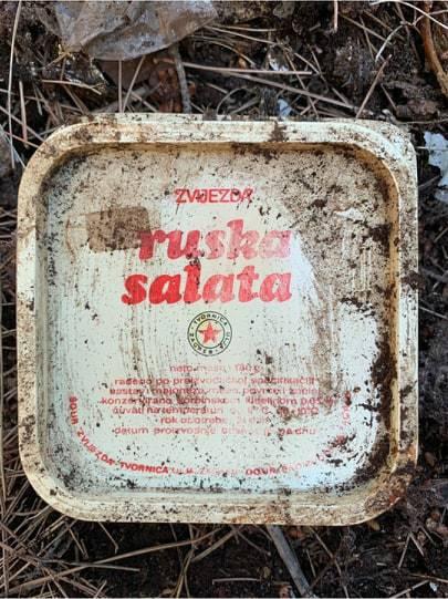 Netko je na moru pojeo Rusku salatu Tvornice ulja Zagreb prije 40 godina. Da nije vaša?