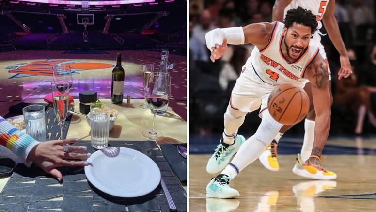 NBA zvijezda zaprosila djevojku na parketu: Uvijek ću te voljeti