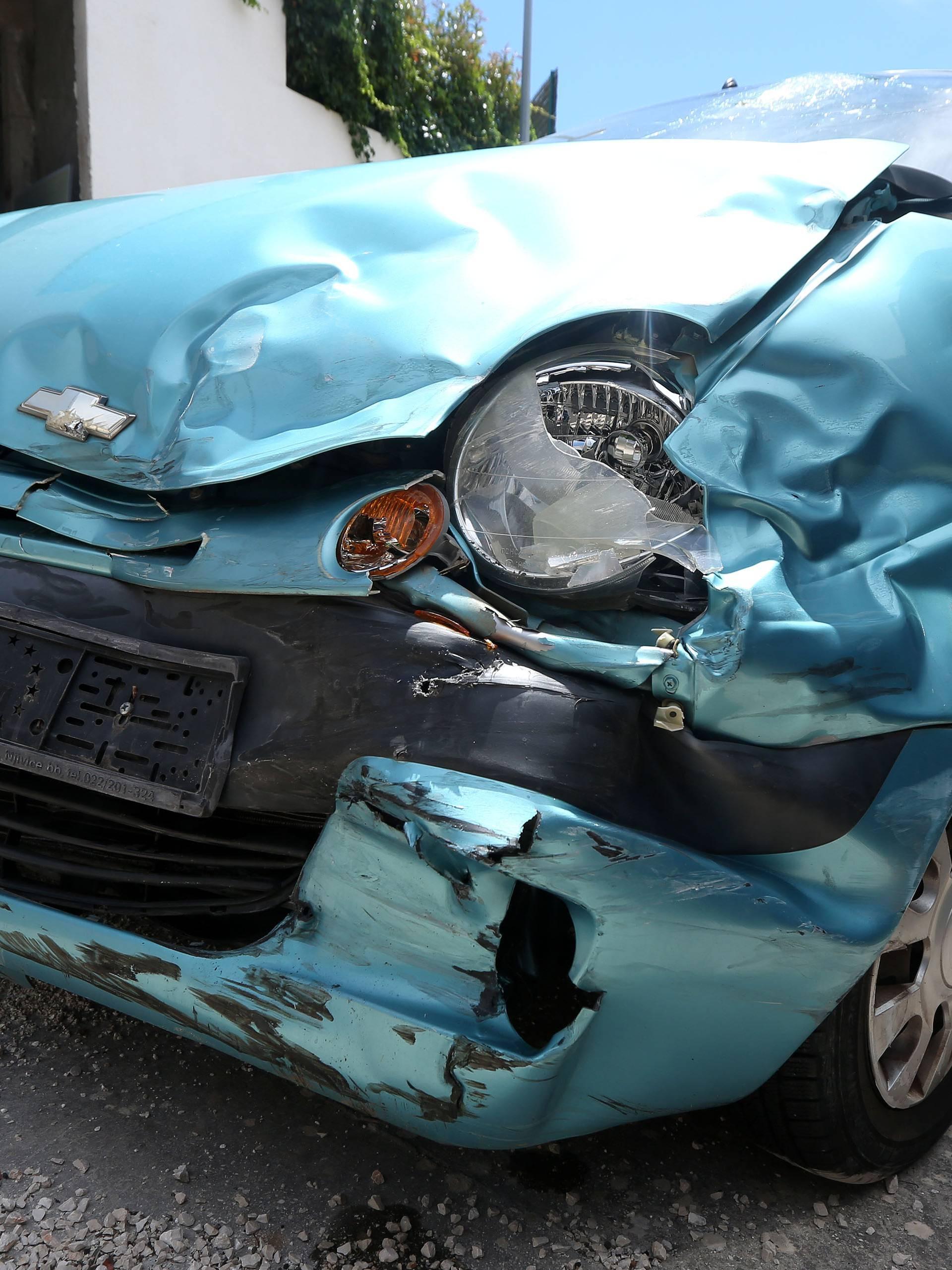 Nesreća u Primoštenu: Vozač izgubio bitku za život u bolnici