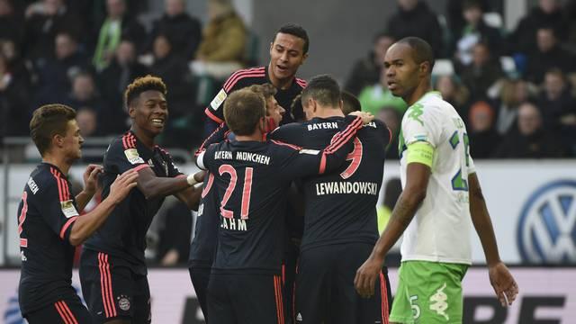 Lewandowski opet poentirao, Bayern je svladao Wolfsburg