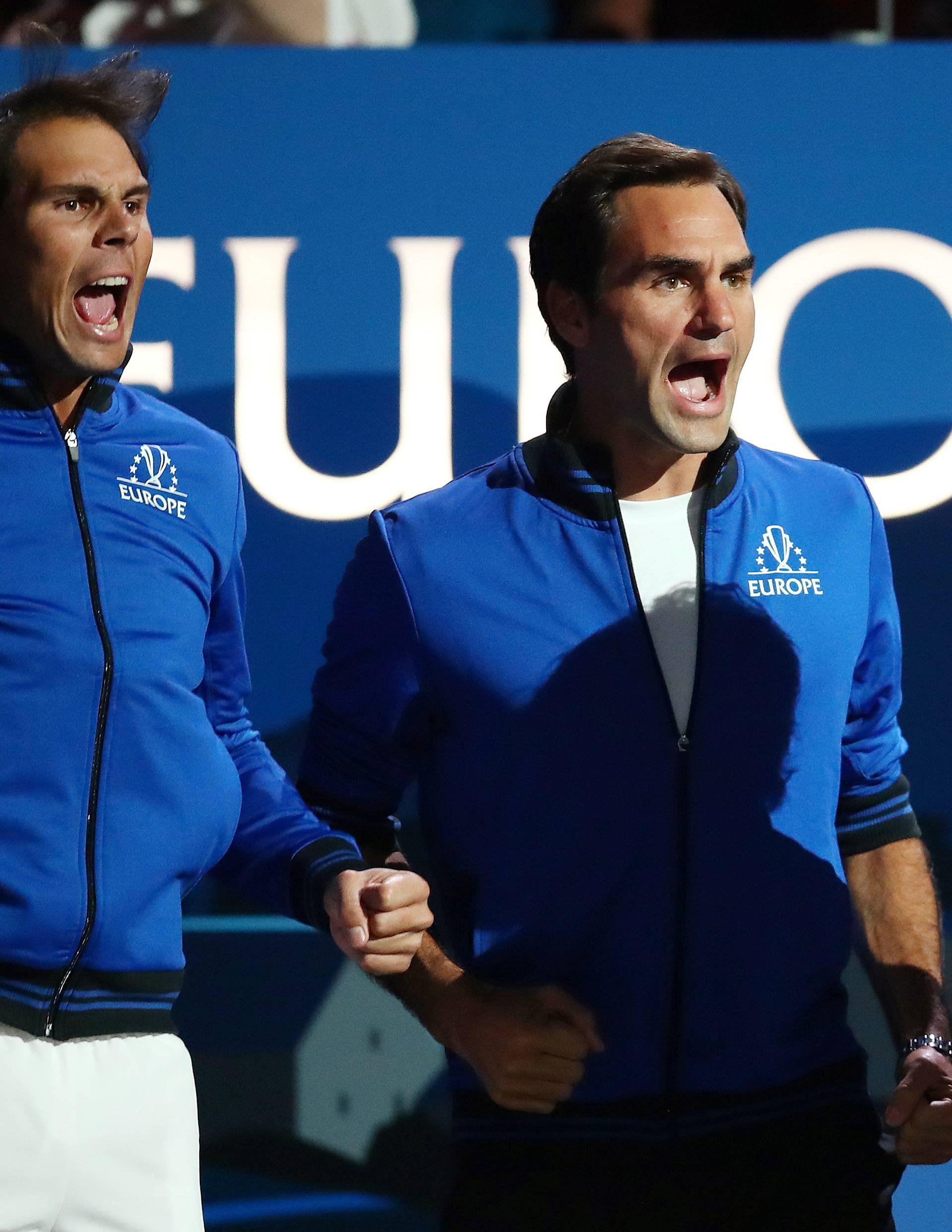 Pa je l' ovo sve? Federer gubio pa mu je u pomoć stigao Nadal