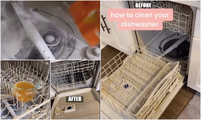 S dva sastojka koje svi imaju doma operite perilicu posuđa