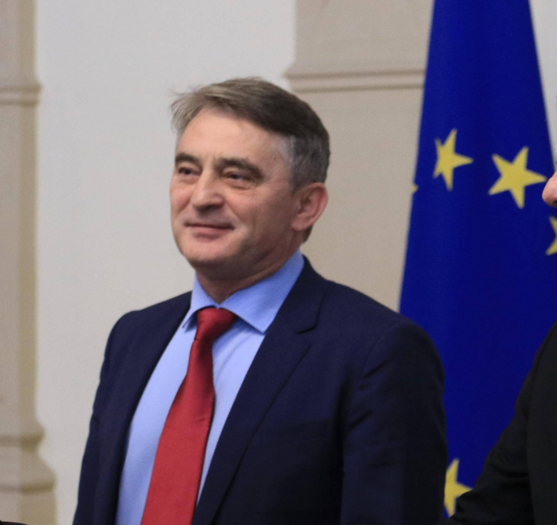 Sarajevo: Cristian Dan Preda susreo se s Željkom Komšićem i Šefikom Džaferovićem
