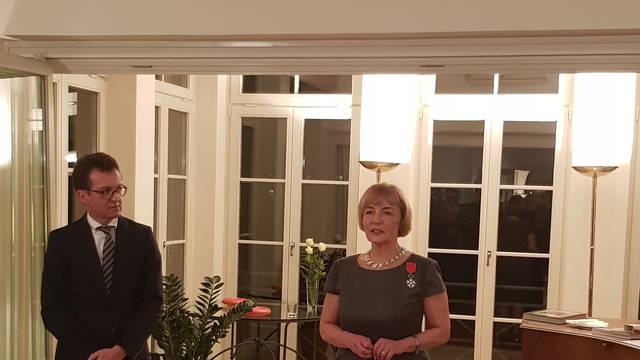 Francuski veleposlanik Vesni Pusić uručio je Orden Viteza