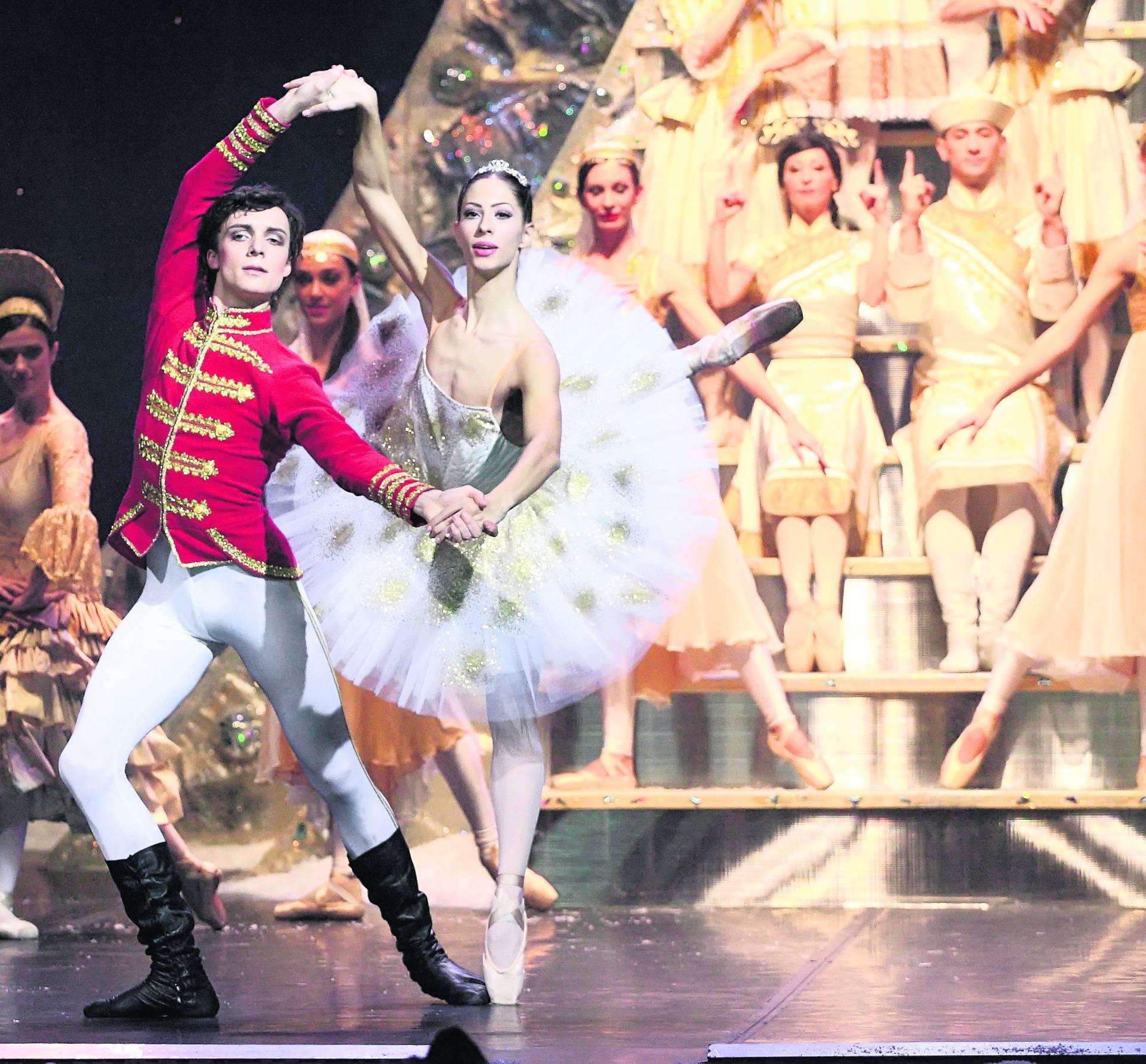 Orasar - generalna proba baletne predstave, 121213