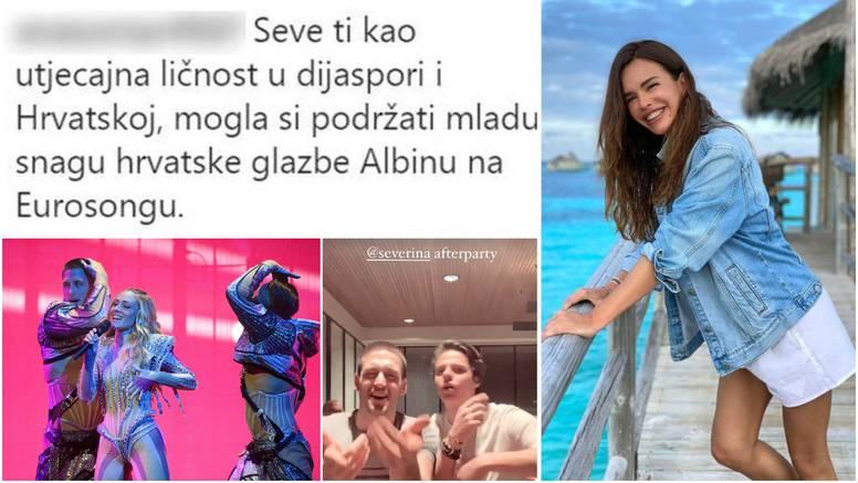 Albinina ekipa zabavljala se uz Sevkine hitove, a ona se suočila s kritikama: 'Nisi podržala curu'
