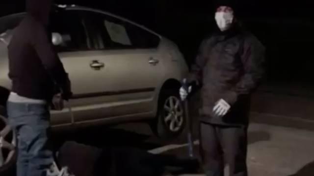 Par se obračunao s lopovima koji su im pokušali ukrasti katalizator s vozila