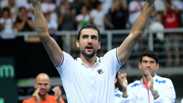 Tennis - Croatia v France - Davis Cup Semi Final