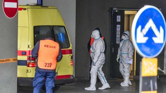 Zagreb: U Arenu stigli prvi pacijenti iz tri bolnice