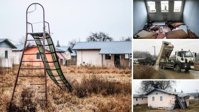 Kraj zapuštenog prognaničkog naselja u Maloj Gorici priprema se šatorsko naselje za volontere