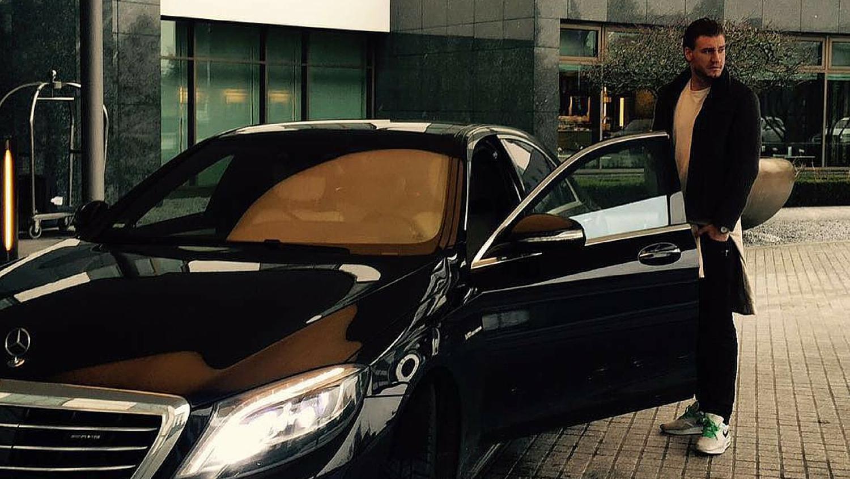 """Kakva neopreznost: Bendtner će platiti zbog """"krivog"""" auta"""