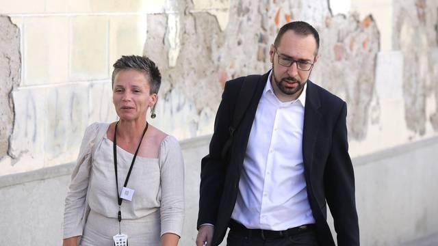 Zagreb: Tomašević i Vuković dolaze na sjednicu Gradske skupštine