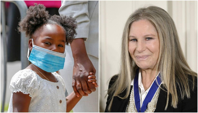 Streisand kćeri Georgea Floyda poklonila Disneyjeve dionice