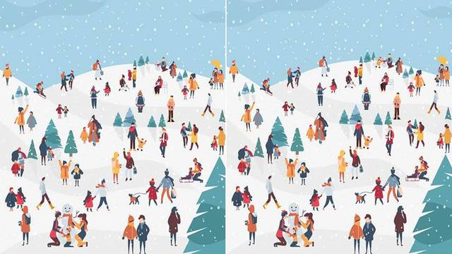 Pronađite razliku na ove dvije slike - za manje od 27 sekundi