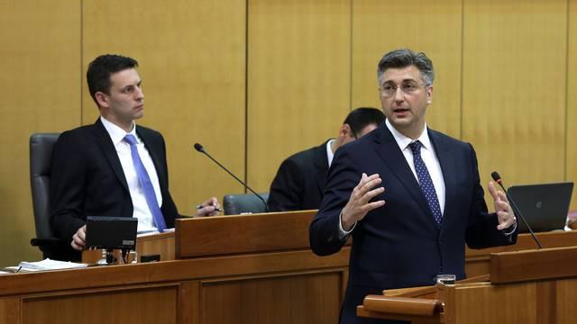 Plenković: Sa Škorom i Mostom možemo kad promijene retoriku