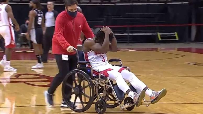 Strašna ozljeda mladog igrača Houstona:  Bio je totalno šokiran